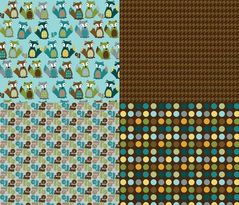 multi_sample_yard_rgb fabric by petunias on Spoonflower - custom fabric