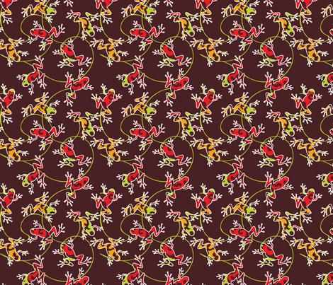 baby leaps fabric by luana_life on Spoonflower - custom fabric