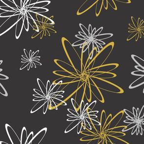 Flower_Orbits__MetallicOnBlack_
