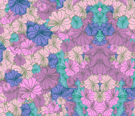 purple_blossom_3 fabric by snork on Spoonflower - custom fabric