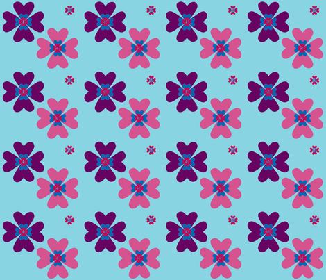 bright_flowers-ch fabric by snork on Spoonflower - custom fabric