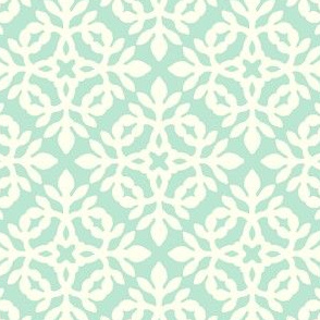 LIGHT GREEN & cream mini-papercut2