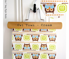 Owl Town - Whimsical Birds Cream