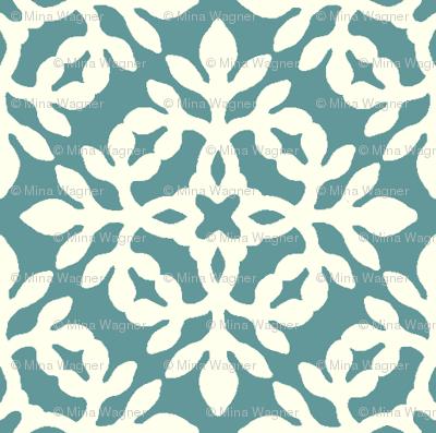 BLUE-GREEN & cream mini-papercut2