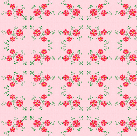 Flora Flower Lily fabric by angelsgreen on Spoonflower - custom fabric
