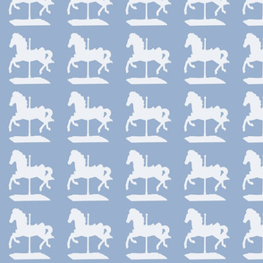 french_blu_CAROUSEL_HORSE_