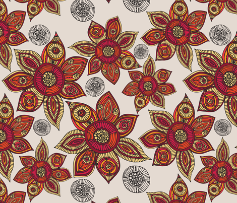 Eve fabric by valentinaharper on Spoonflower - custom fabric