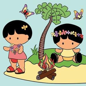 My Little Friends Tropical Island
