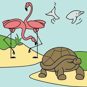 My Little Friends Tropical Island Animals