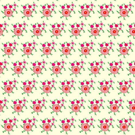 Flora Flower Aimee fabric by angelsgreen on Spoonflower - custom fabric