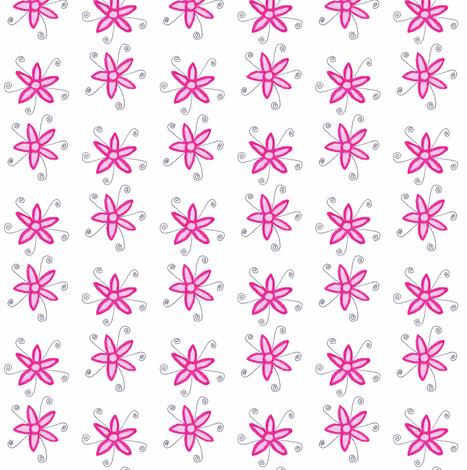 Flora Flower Rosie fabric by angelsgreen on Spoonflower - custom fabric