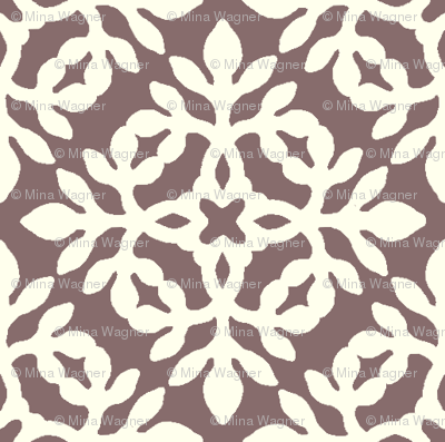 BROWN & cream mini-papercut2