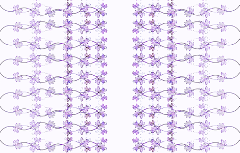 Queen_s_Anne_Lace_purple fabric by joanmclemore on Spoonflower - custom fabric