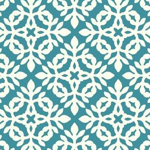 TEAL & cream mini-papercut2