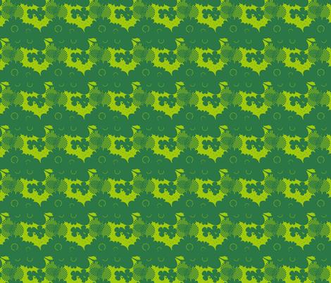 GREEN SHADES fabric by rke on Spoonflower - custom fabric