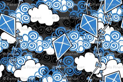 ©2011 go fly a kite bleu