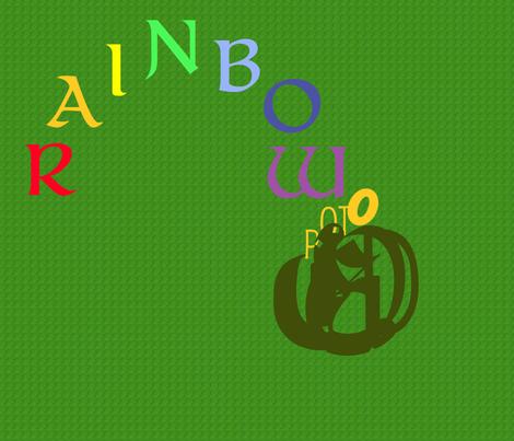 Rainbows____Pots_o_Gold fabric by weaver_phoenyx_aka_birdy on Spoonflower - custom fabric