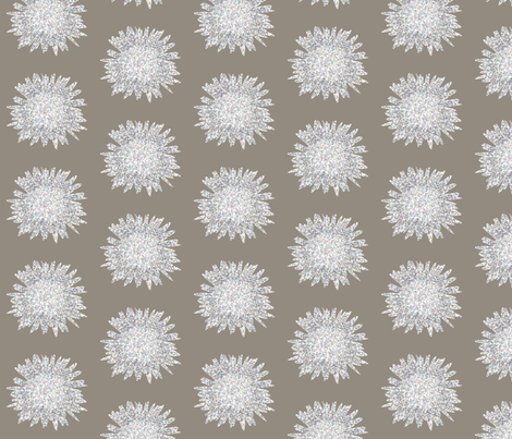 POINTALISSM DAISY bark fabric by heatherrothstyle on Spoonflower - custom fabric