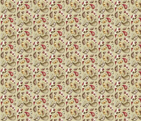 Her paisley teeny tiny ideas fabric by catru on Spoonflower - custom fabric