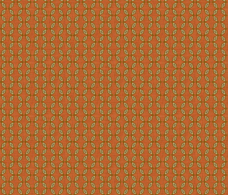 rust_wave fabric by holli_zollinger on Spoonflower - custom fabric