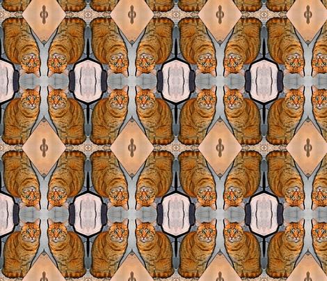 Firefox fabric by janejo on Spoonflower - custom fabric