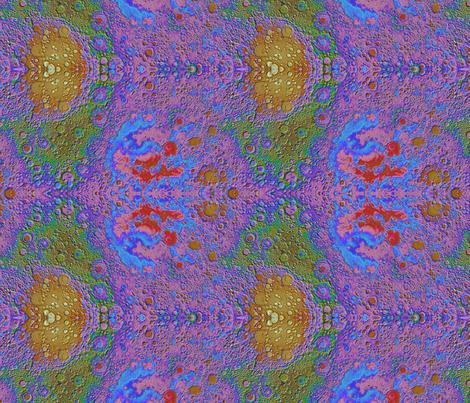Lunar Topography fabric by haleystudio on Spoonflower - custom fabric