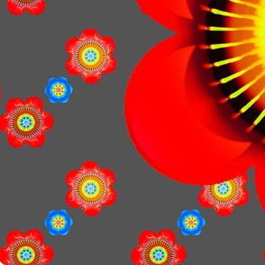 Mod Pop Flowers