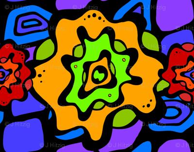 Splash Flower - Rainbow