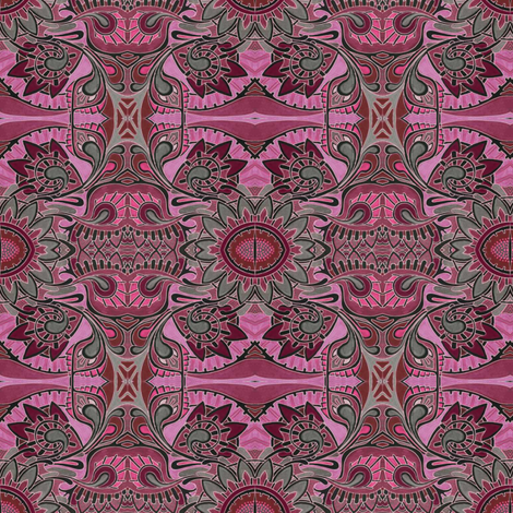 Thistle From the Red Planet fabric by edsel2084 on Spoonflower - custom fabric