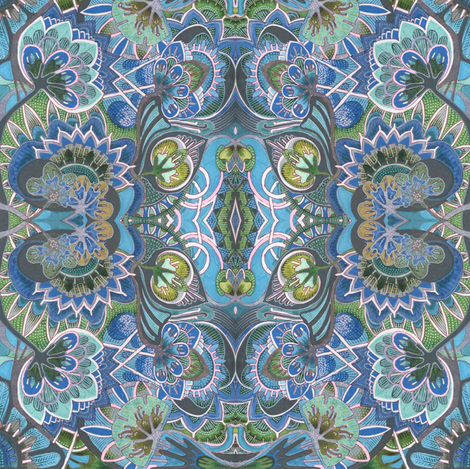 Artichoke Hearts fabric by edsel2084 on Spoonflower - custom fabric