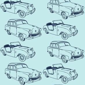 Nifty Fifties Crosley cars Hot Shot and Convertible