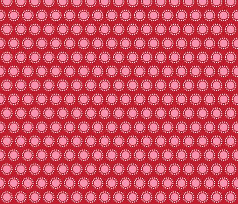 Bunny Band Flower pink fabric by bora on Spoonflower - custom fabric