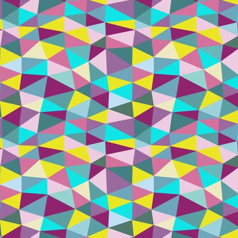 triangle twist fabric by flowerpress on Spoonflower - custom fabric