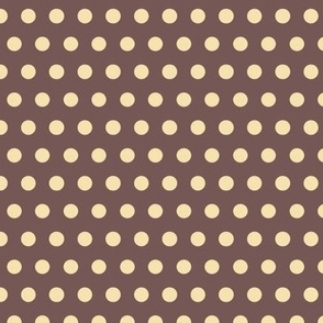 Baby Boy - Polka dots in brown