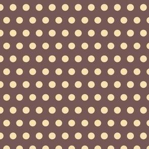 Baby Boy - Polka dots in brown