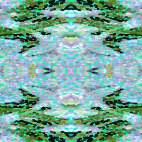 Lily of the Nile Abstract