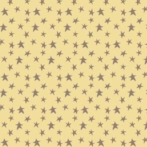 Baby Boy - Stars in yellow