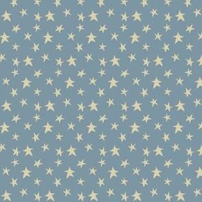 Baby Boy - Stars in blue