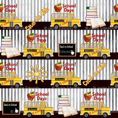 School is Cool Stripes
