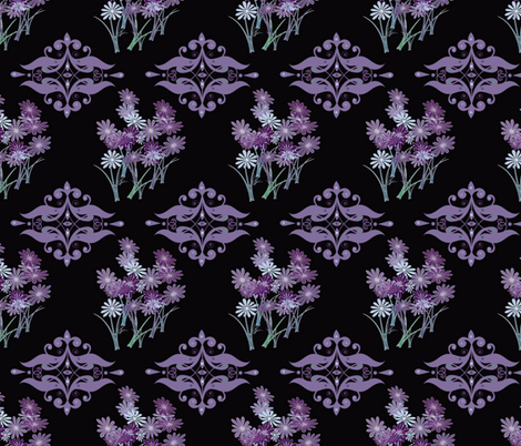 Purple Majesty fabric by captiveinflorida on Spoonflower - custom fabric