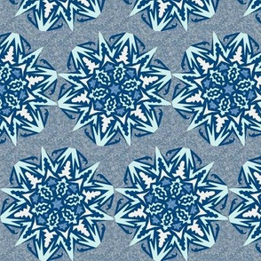 Snowflakes – Blue Ice