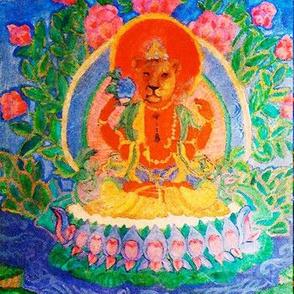 Lioness Tara Prayer Flags