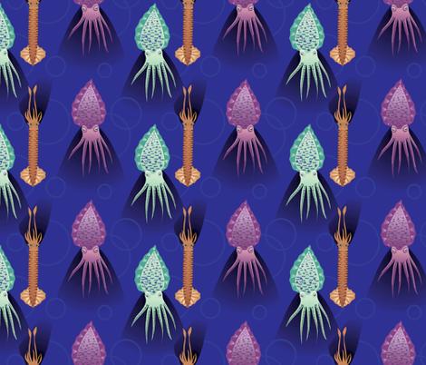 squids_abound fabric by ayisha1978 on Spoonflower - custom fabric