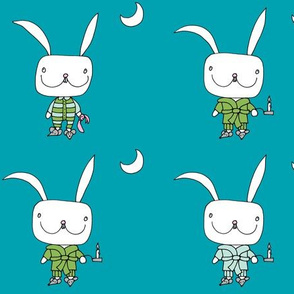 bedtime for little rabbit_dblue_moon