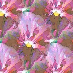 Aquarelle violet