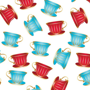 In Wonderland: Teacups