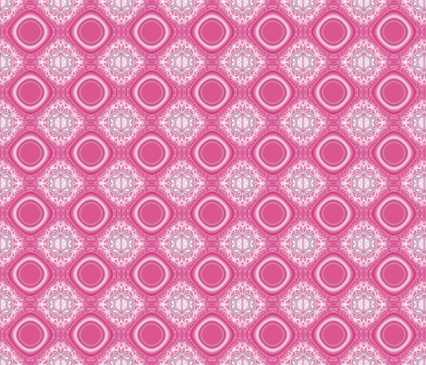 Scillia in Pink © 2009 Gingezel™ Inc. fabric by gingezel on Spoonflower - custom fabric