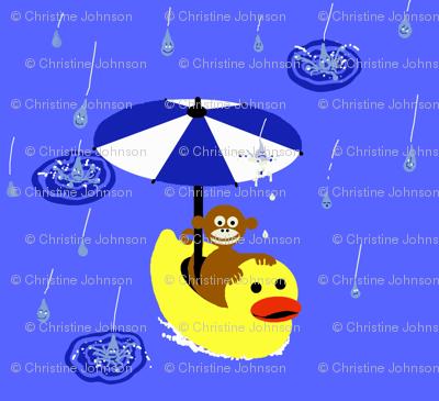 Ducky & Monkey / rain