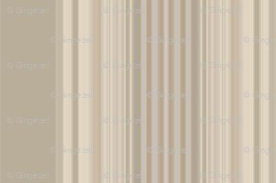 Broad Stripe in Beige on Beige © 2011 Gingezel™ Inc.