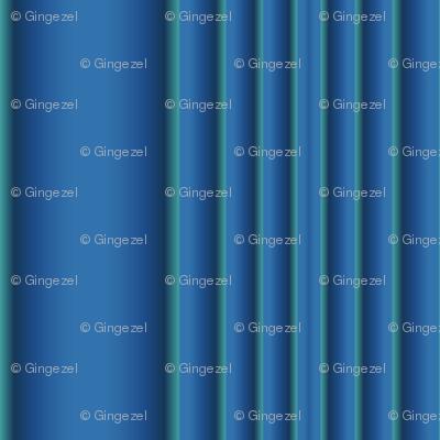 Blue Green Columns © 2009 Gingezel™ Inc.